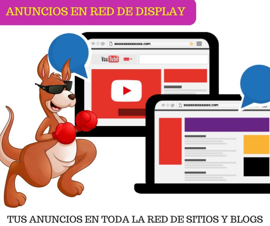 Anuncos en la red de blogs y sitos web