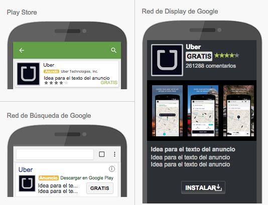 Anuncios en aplicaciones para móviles