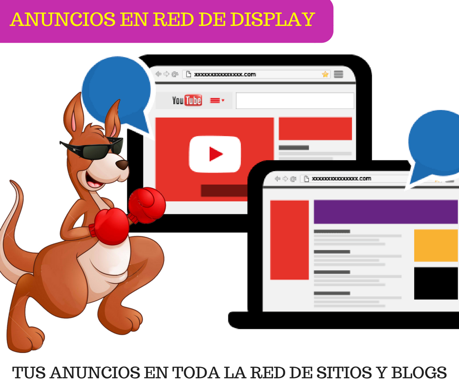 Anuncios en web sites y blogs