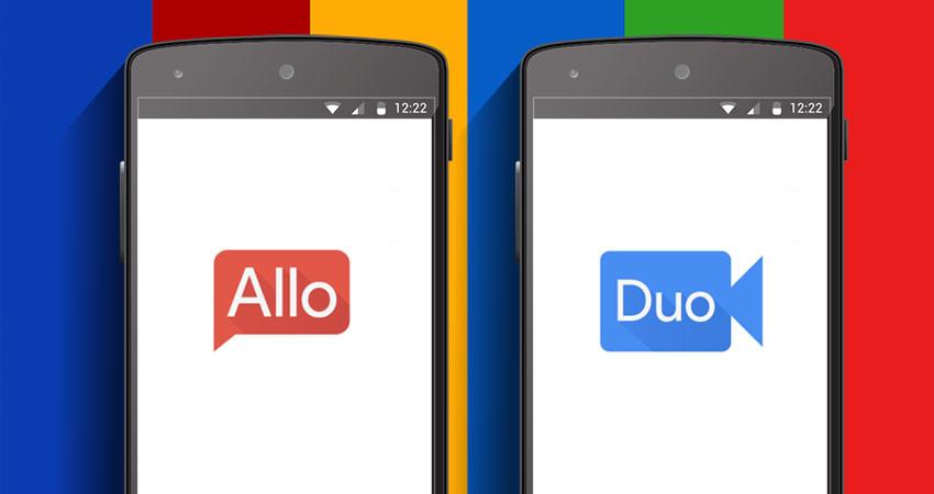 Tiemblan Messenger y Whatsapp ante la llegada de Google Allo y Duo para IOS, ANDROID y Escritorio.