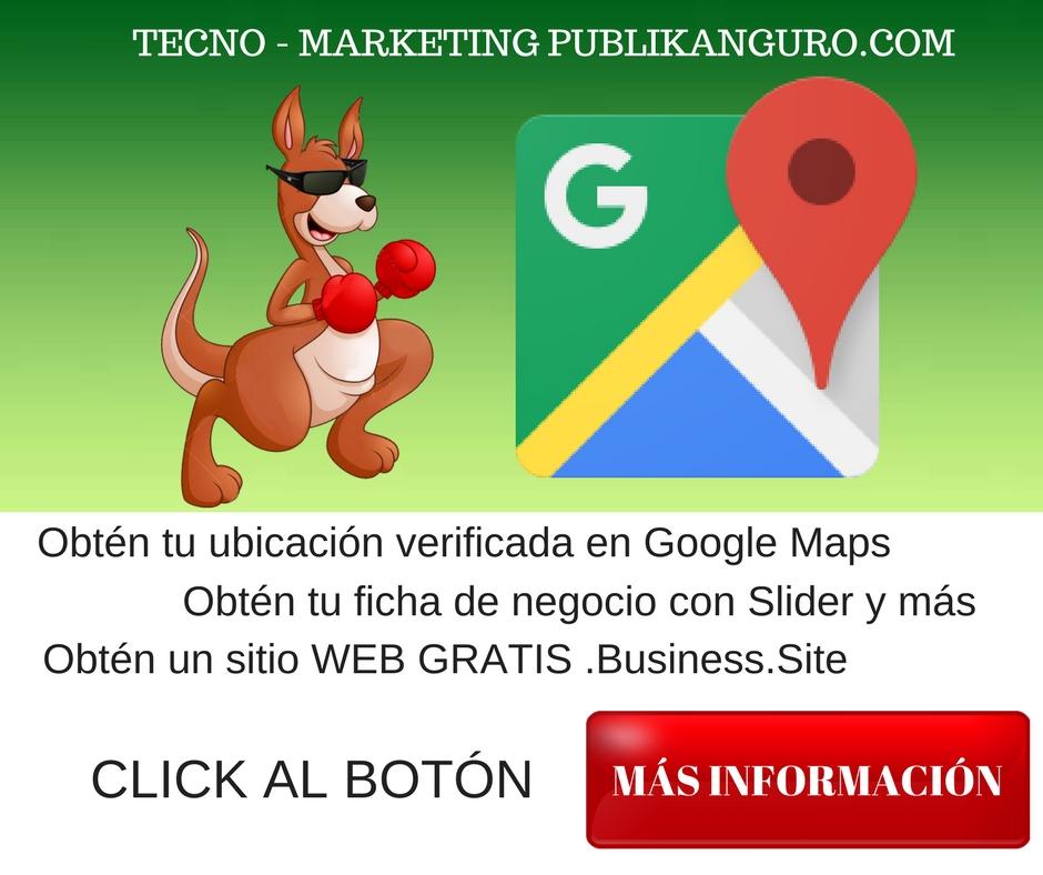 Como dar de alta tu empresa en Google my Business