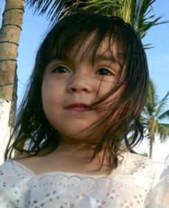 Karol en el malecon de La Paz